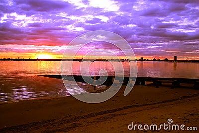 Australia Sunset Melbourne