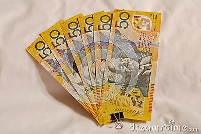 Australian #50.00