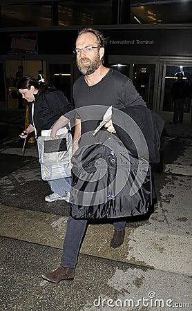 Free Australian Actor Hugo Weaving At LAX Royalty Free Stock Photo - 14348905