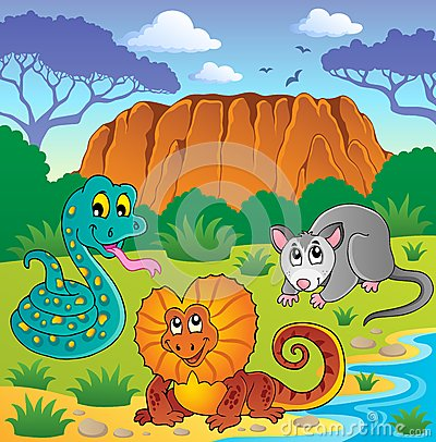 Australian animals theme 6