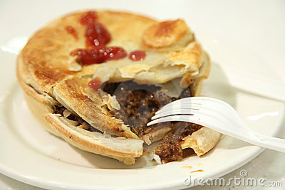 Australian beef pie