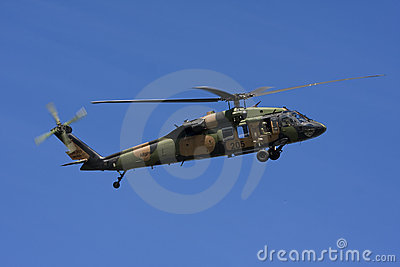 Australian Black Hawk Helicopter