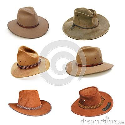 Free Australian Bush Hats Royalty Free Stock Photography - 7687657