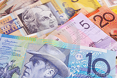 Australian Currency Background