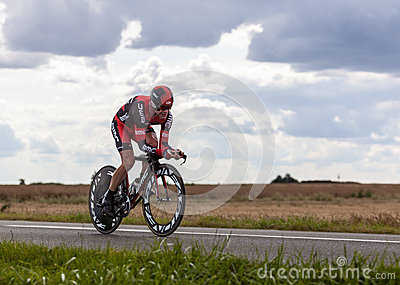 The Australian Cyclist Evans Cadel Editorial Photo