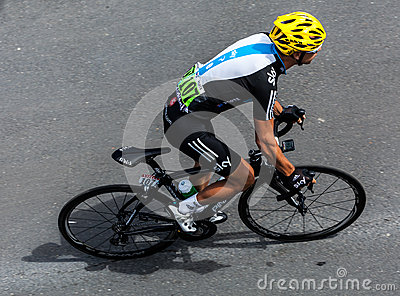 The Australian Cyclist Porte Richie Editorial Photography