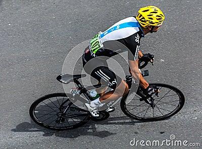 The Australian Cyclist Porte Richie Editorial Photography