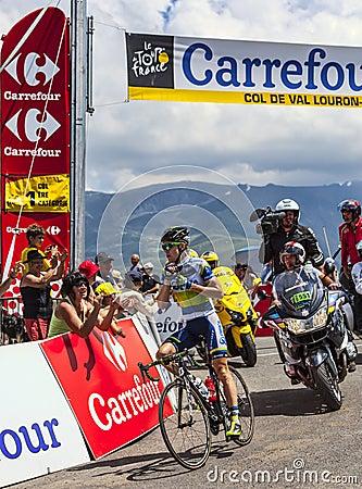 The Australian Cyclist Simon Clarke Editorial Stock Photo