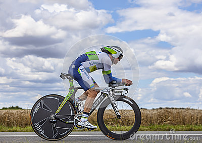 The Australian Cyclist Simon Gerrans Editorial Stock Photo