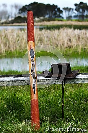 Free Australian Didgeridoo Stock Images - 26219724