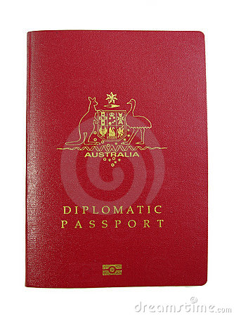 Australian Diplomatic Passport