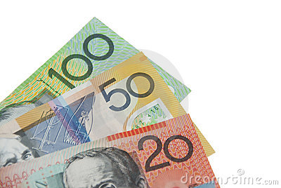 Royalty Free Stock Images: Australian Dollar banknotes