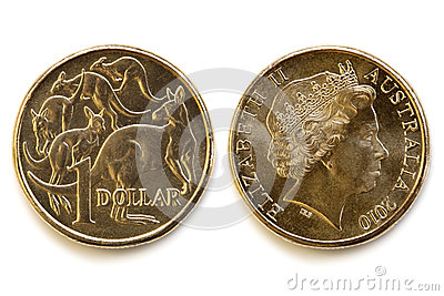 Australian Dollar Front and Back