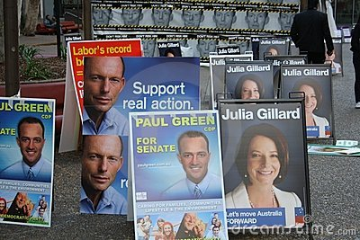 Australian Election 2010 Editorial Photo