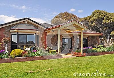 Australian family house,