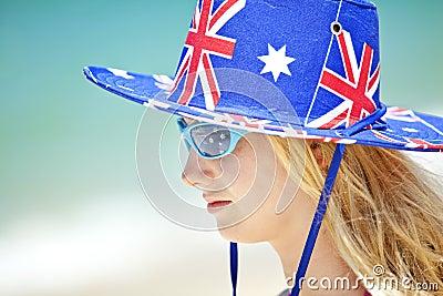 Australian Girl Beach