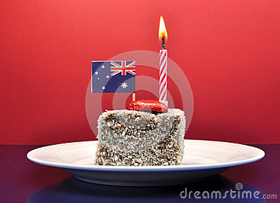 Australian holiday celebration for Australia Day, January 26, or Anzac Day, April 25.
