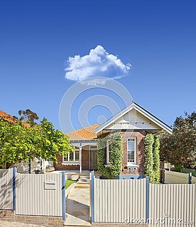 Australian House Home Sky