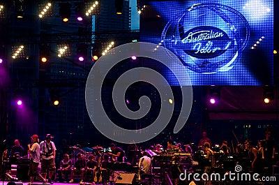 Australian Idol Editorial Photography