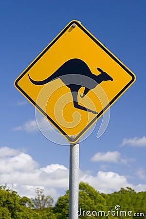Free Australian Kangaroo Sign Stock Images - 538774