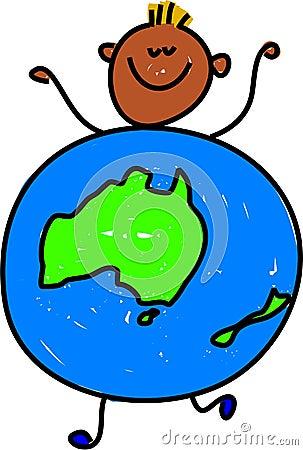 Australian kid