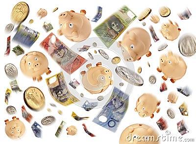 Australian Money Budget Debt
