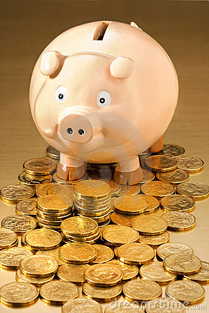 Free Australian Money Piggy Bank Royalty Free Stock Photos - 3620608