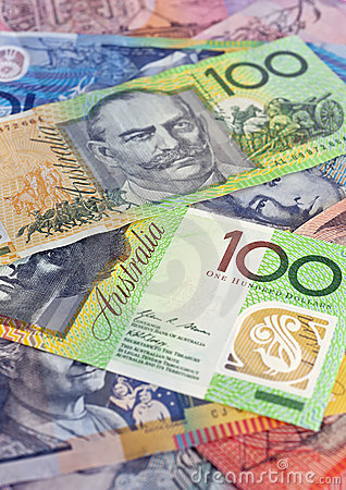 Australian money selection