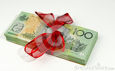 Australian money tied up Bundle