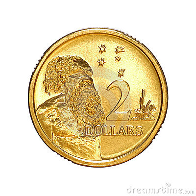 Australian Money Two Dollar Coin