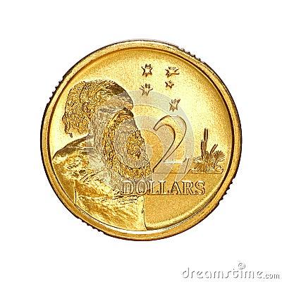 Australian Money Two Dollar Coin