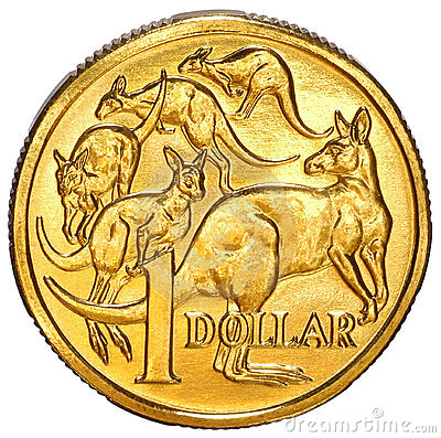 Australian One Dollar Coin Stock Photography - Image: 3227152