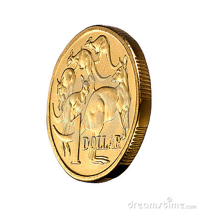 Australian One Dollar Coin Money Royalty Free Stock Images ...