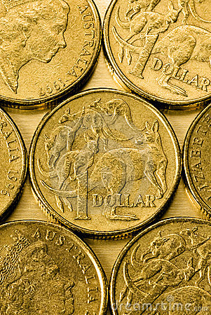 Australian One Dollar Coins