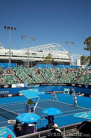Australian Open Tennis, Rod Court Arena Editorial Stock Image