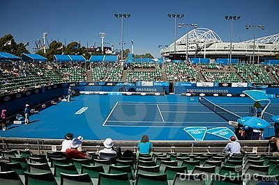 Australian Open Tennis Tournament Editorial Photography