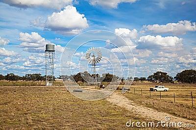 Australian Outback scene