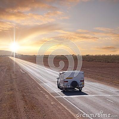 Australian Outback Touring Caravan