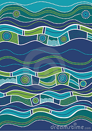 Free Australian Pattern Royalty Free Stock Images - 12089939