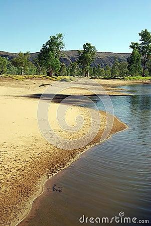 Australian river view