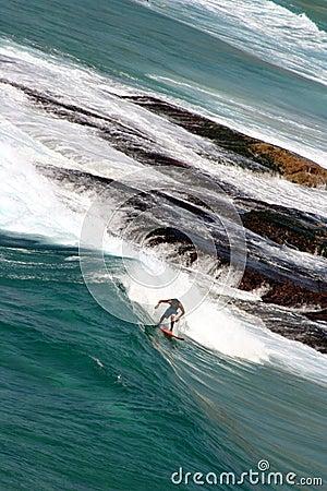 Australian surfer at Bondi