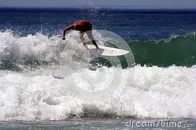 Australian Surfer Manly Beach