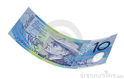 Australian Ten Dollar Bill