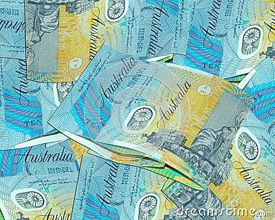 Australian ten dollars