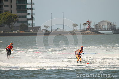 Australian Water Ski Racing Editorial Image