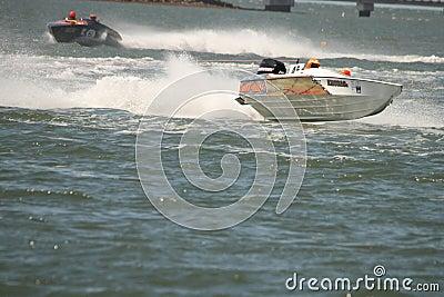 Australian Water Ski Racing Editorial Stock Image