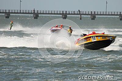 Australian Water Ski Racing Editorial Image