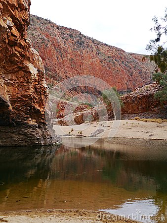 Free Australian West Mcdonnell Ranges Royalty Free Stock Photography - 37263027