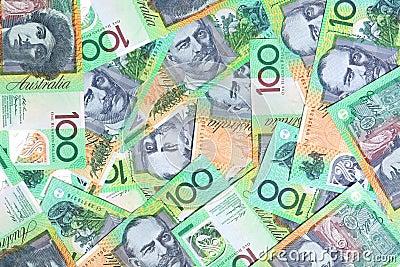 Australiano cientos dólares