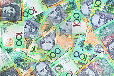 Australien cents dollars